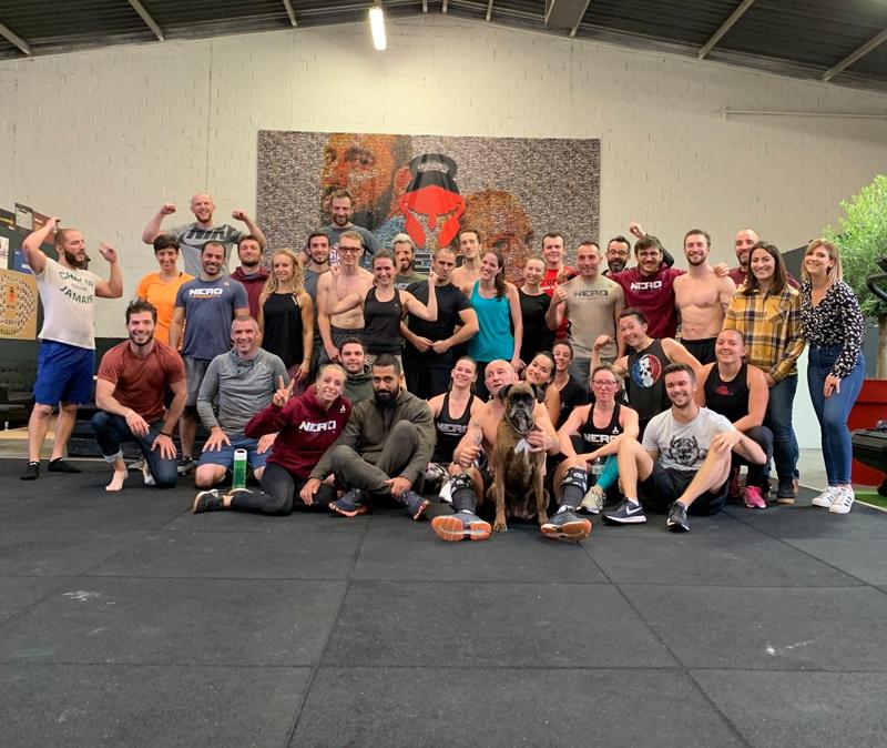 La communauté Nero CrossFit® à Strasbourg Meinau