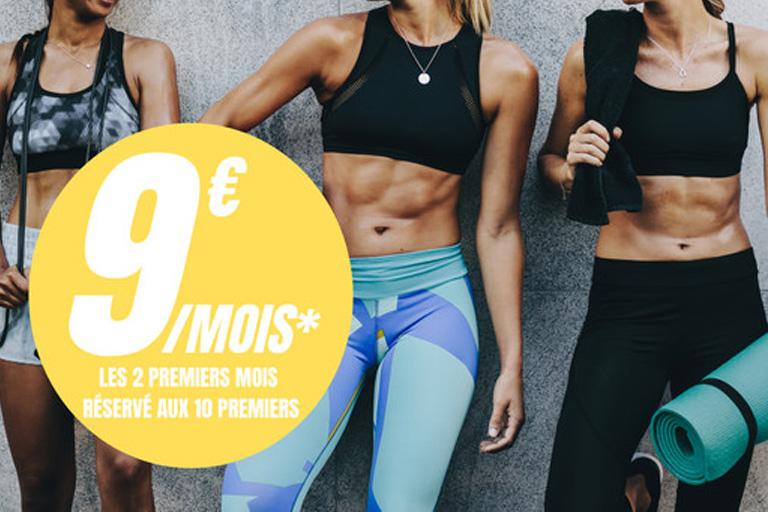 Offre promotionnelle 2 premiers mois à 9€/mois
