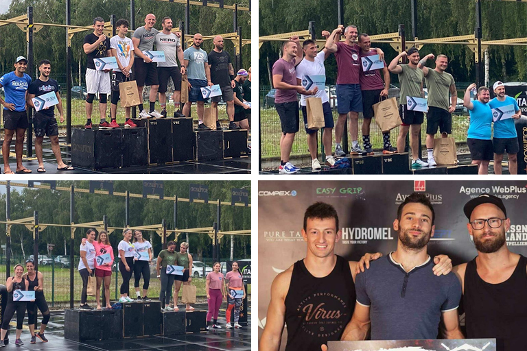 Podiums Alsace Fitness Battle