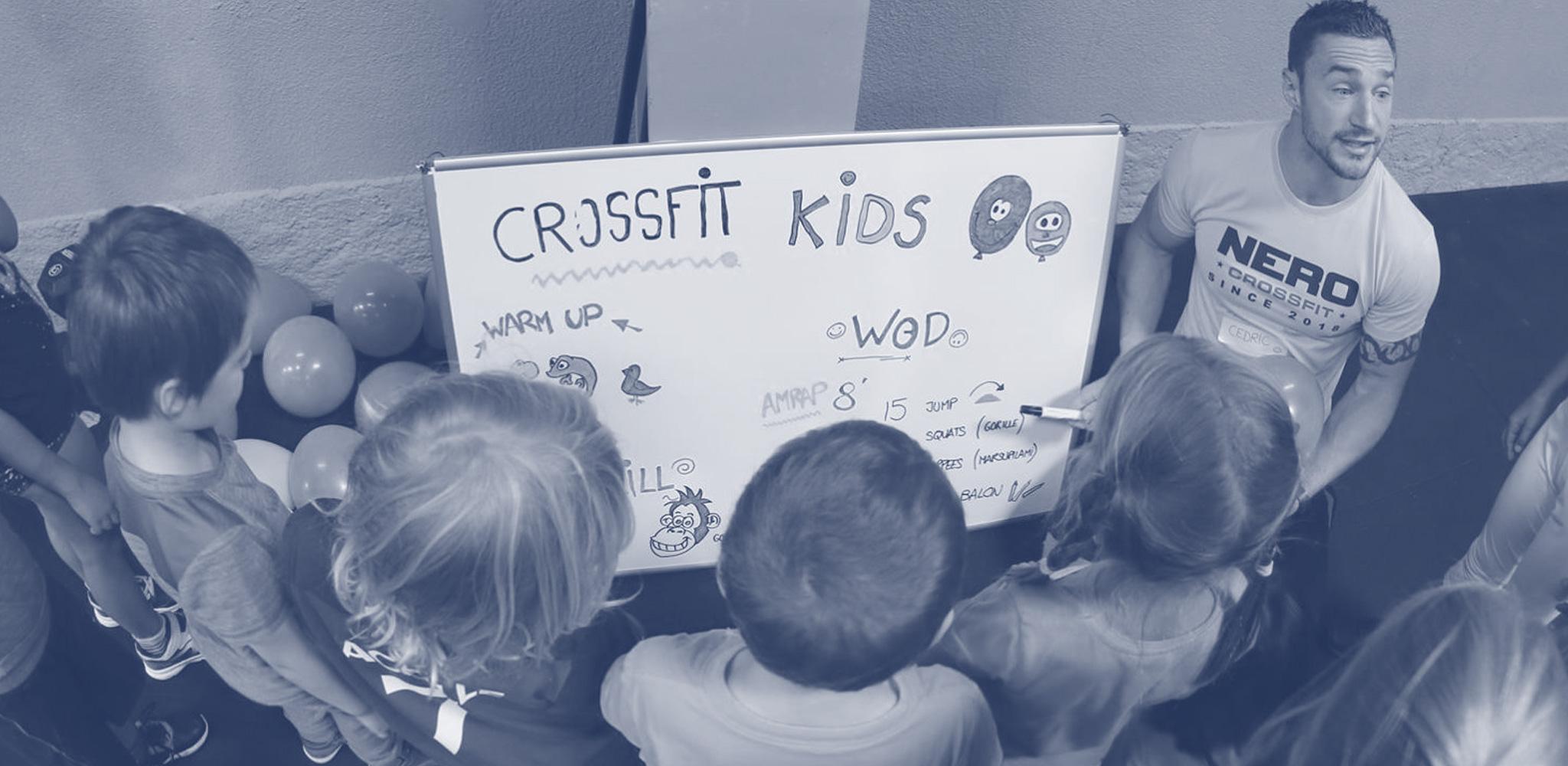 CrossFit® Kids chez Nero CrossFit® à Strasbourg Meinau