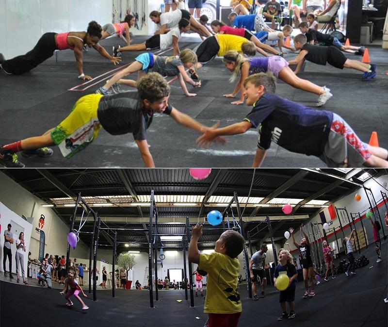 Le planning des séances CrossFit® Kids
