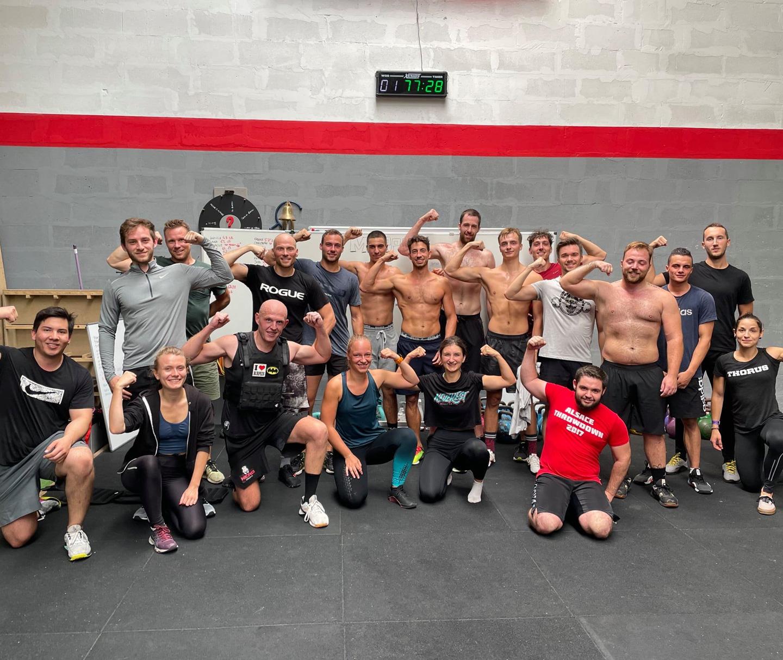Athlètes Nero CrossFit® à Strasbourg Meinau